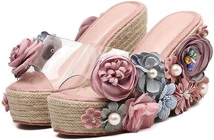 Summer Platform Slides Ladies Sandals