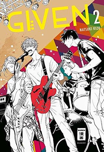 Given 02 Taschenbuch – 5. Juli 2018 Natsuki Kizu Claudia Peter Egmont Manga 3770498585