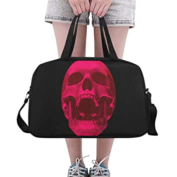 Amazon.com: Skull Cool Bone Scary Tattoo Custom - Bolsas de ...