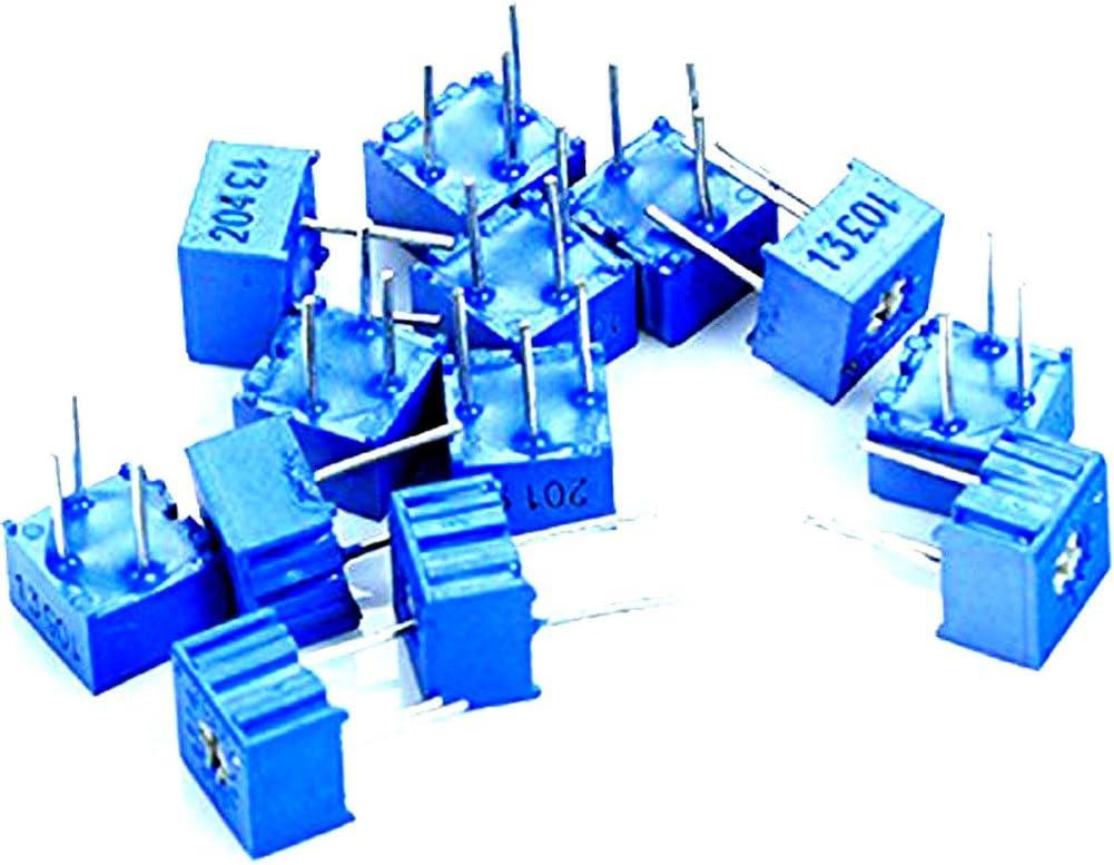 10pcs 500K ohm Trimmer Trim Pot Potentiometer Resistor 3362 New