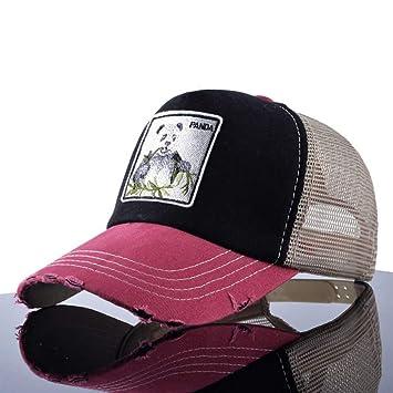 MAOZIJIE Sombreros De Sol Unisex para Hombre Sombrero De Hip Hop ...