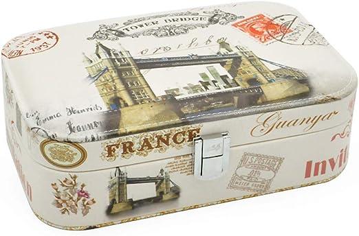 zhenfa Impreso joyería Almacenamiento Caja Exquisita joyería Caja ...