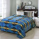 Southwest Design New Heavy Fleece Full Size Turquoise Design 16112