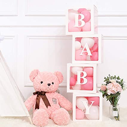 Amazon.com: Staraise Baby Shower Box para decoración de baby ...