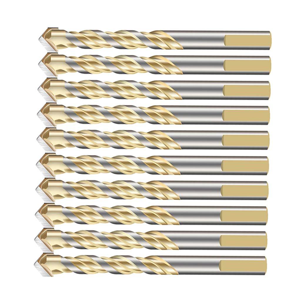 12 mm perfk 10pcs Pack Hohlbohrer Keramikbohrer Bohrer Betonboher Steinbohrer