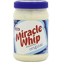 Kraft Sandwich Shop Original Miracle Whip, 15 Ounce Jars