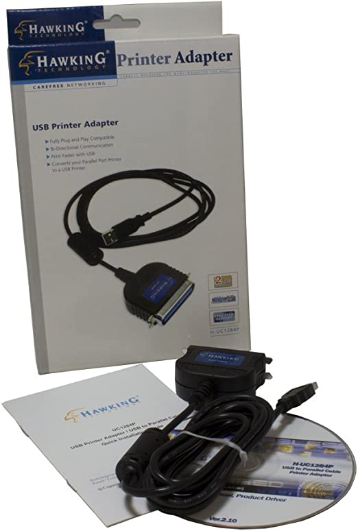 Hawking Technology USB to Parallel Port Converter HUC1284P