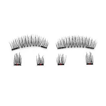d8d907619a2 Amazon.com : 6Pcs Eyelashes Invisible Lashes Mink Eyelashes With Tweezers  3D Mink Lashes Thick Full Strip False Eyelashes, 24p : Beauty