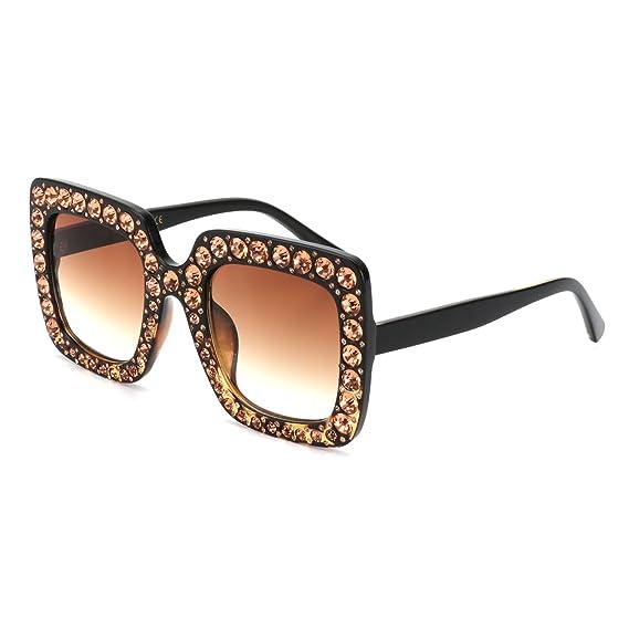ROYAL GIRL Gafas de Sol para Mujer, diseño Cuadrado de ...