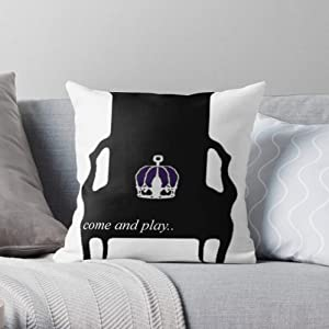 Holmes BBC Sherlock Geek Moriarty Gatiss Nerd Square Form Decorative Indoor Cotton Throw Pillow