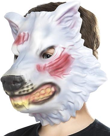 NET TOYS Maschera di Carnevale da Lupo Cattivo
