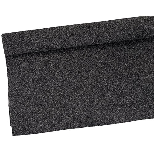 """Parts Express Speaker Cabinet Carpet Covering Charcoal Yard 54"""" Wide"""