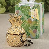 30 Warm Welcome Pineapple Themed Gold Pineapple Boxes