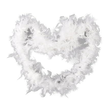 amazon com tinksky 2m decorative feather chandelle boa craftWhite Boa Decoration #17