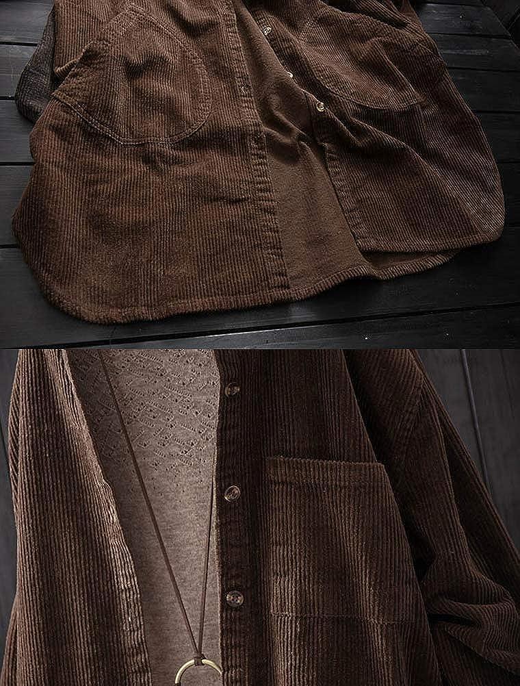 Minibee Womens Casual Knited Sweater Cardigan Coat Fit US S-L