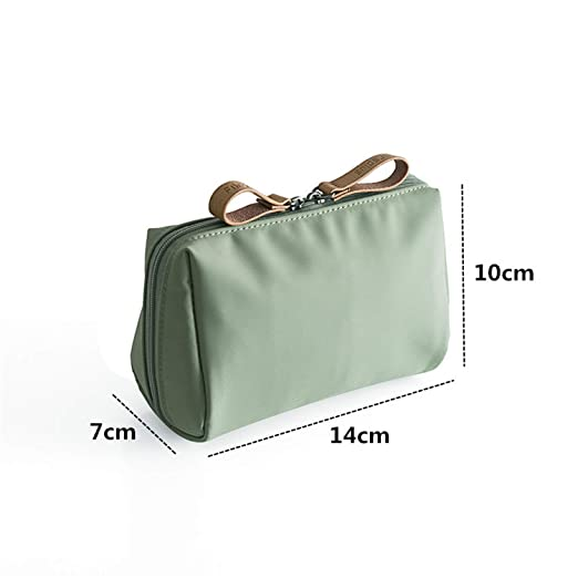Amazon.com : 1pc Korean Style Solid Cosmetic Bag Women Bow ...