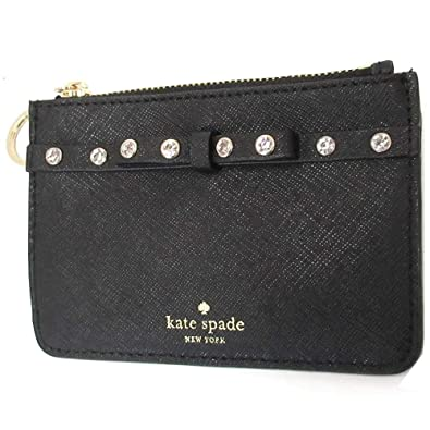 1e02fe8d035d5 Kate spade ケイトスペード アウトレット bitsy laurel way jeweled レザー コイン ケース カードケース キーリング付