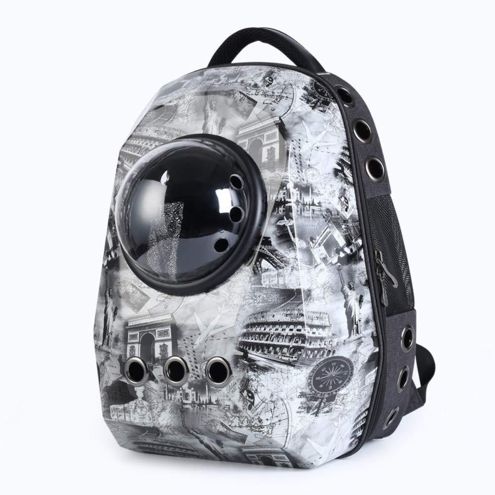 B XHYYQX Pet Carrier Outdoor Travel Pet Bag Comfortable Portable Breathable Handbag Space Bag,B