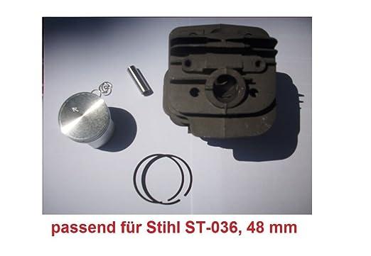 zylinderkit para ST de 036, 48 mm de libre de Desbrozadoras STIHL ...