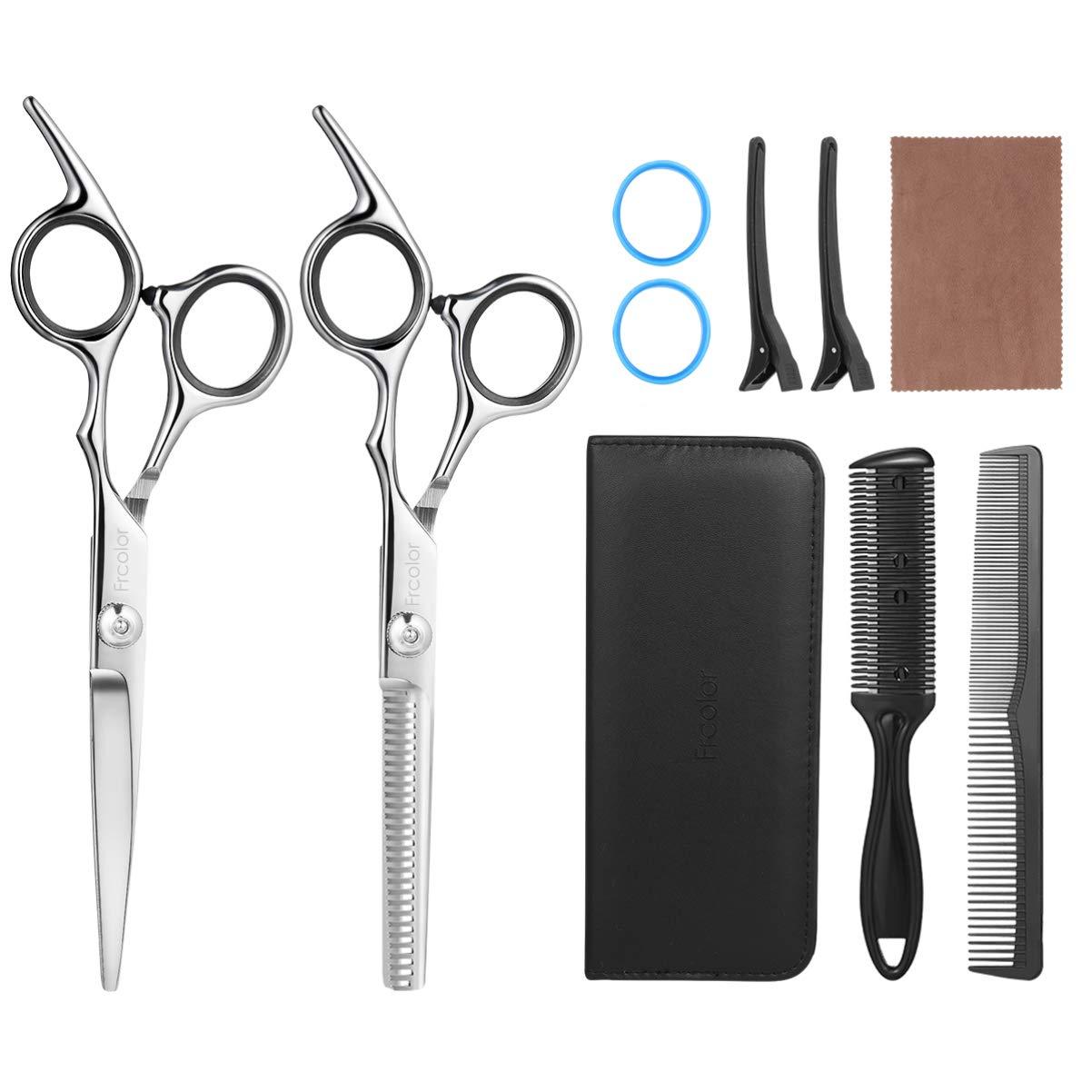 Hair Cutting Scissors Set, Professional Hair Scissor Hairdressing Kit for Salon Home Use