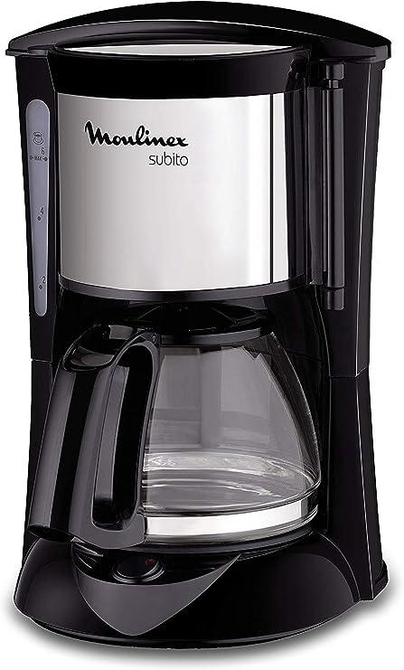Design exclusif. Cafeti/ère /à filtre 1000 watts filtre permanent lavable et fonction maintenir au chaud Aigostar Chocolate 30HIK Couleur noir sans BPA capacit/é de 1,25 litres