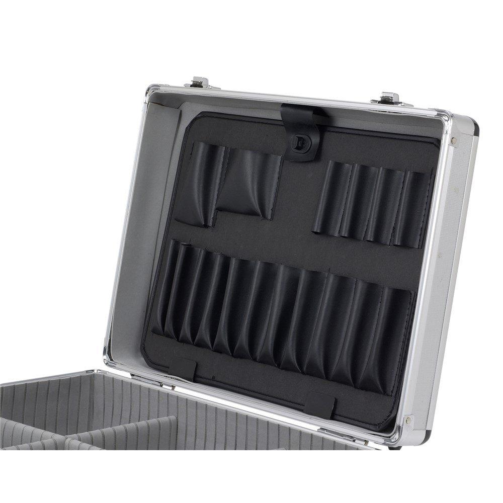 Werkzeugfach abschlie/ßbar Alukoffer Werkzeugkoffer Werkzeugkiste VARO Gurt