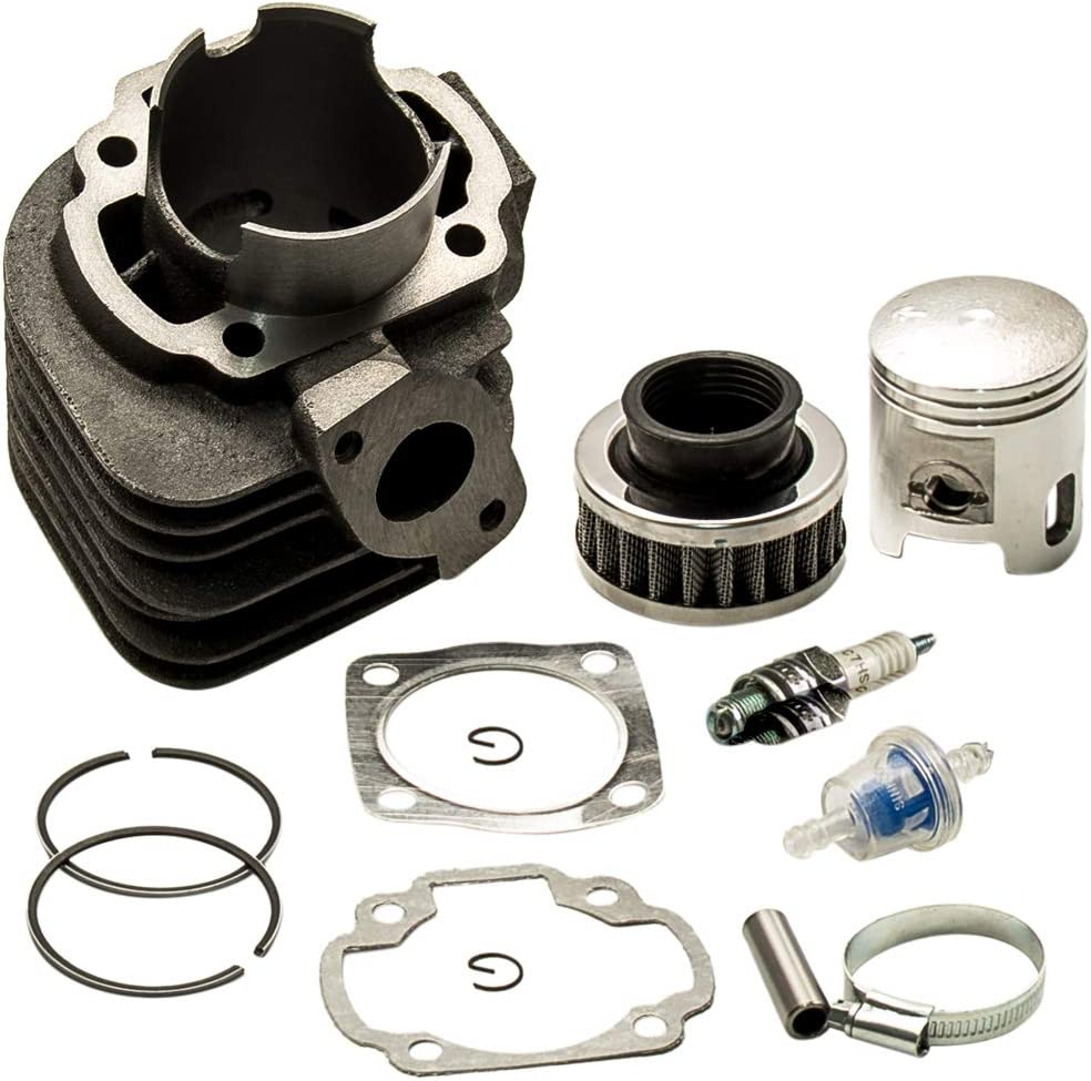 maXpeedingrods For Polaris Scrambler 90 Cylinder Piston Gasket Top End Kit 2001 2002 2003