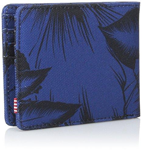 De 8FSb08dv5G Carpeta Herschel Jungle Los Selva La Blue Wallet De Suministro De Herschel Azules Supply Hombres Men's Floral Flores Co ZfwCq5n