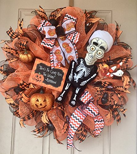 Jeff Dunham's ACHMED Halloween Wreath with Talking Achmed! Customized metal sign and Other Halloween Ornaments
