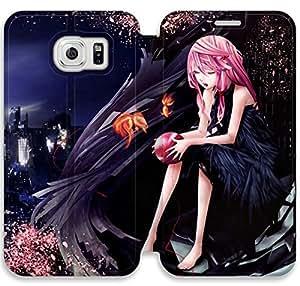 Corona culpable V8P64G7 Samsung Galaxy S6 caso del tirón del cuero funda F7F12J7 personalizados funda protectora de cuero caso del teléfono