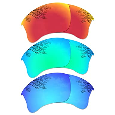 b73259c77c9 Image Unavailable. Image not available for. Colour  Dynamix Polarized  Replacement Lenses for Oakley Flak Jacket XLJ ...