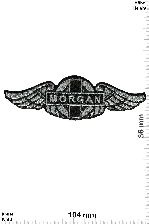 Auto Patch Fl/ügel Iron On zum aufb/ügeln Aufn/äher Morgan Auto Morgan