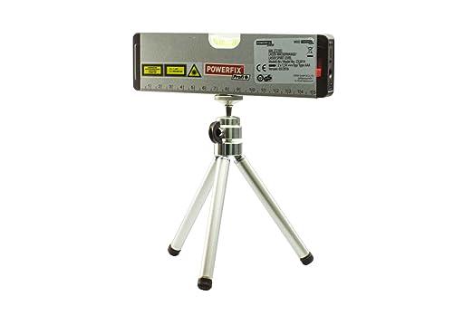 Powerfix laser wasserwaage mit stativ kreuzlinien und