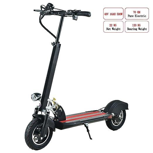 PXQ Patinete eléctrico Adultos, Plegable, 100 kg -120 kg ...