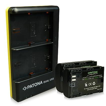 2in1 Cargador USB para Canon LP-E6