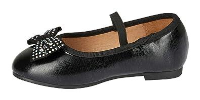 Amazon.com: Bebe - Zapatillas de ballet para niñas con ...