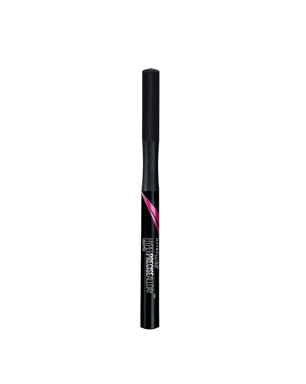 Maybelline New York Eyeliner Liquido Master Precise Penna, Tratto Sottile e Preciso per un Ottimo Risultato, 001 Forest 3600531047795