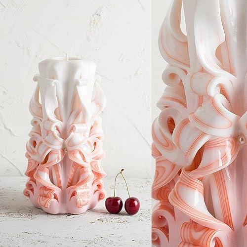 Amazon com: Orange and White Decor Gentle Colors