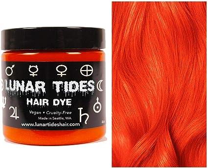 Siam Orange, tinte semi permanente para el cabello naranja - 118 ml - Lunar Tides