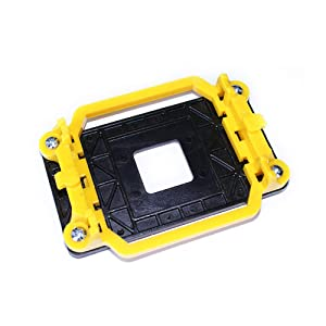 CPU Cooling Fan Heatsink Socket AMD Plastic CPU Fan Stand Bracket Base Dock with Four Screws for AMD 940 AM2 AM2+ AM3 AM3+