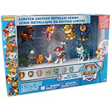 Paw Patrol Limited Edition Metallic Series Action Pup Set