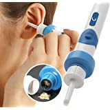 Electric Earwax Removal Kit, Electric Ear Cleaner, with 2 New-Designed Replacement Tips & Brush