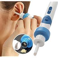 Kit rimozione cerume elettrico, elettrico Ear Cleaner, con 2new-designed punte di ricambio e pennello