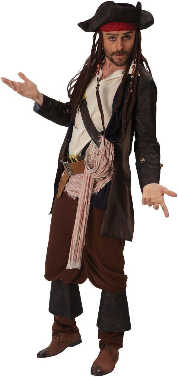 Rubies Disfraz Jack Sparrow Ad 810246: Amazon.es: Juguetes y juegos
