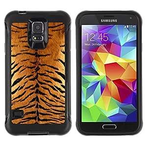 Suave TPU GEL Carcasa Funda Silicona Blando Estuche Caso de protección (para) Samsung Galaxy S5 V / CECELL Phone case / / Tiger Furry Pattern Animal Wild Big Cat /