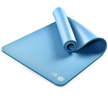 Amazon.com : D&LE Comfort Foam Thick Yoga mat, Premium Non ...