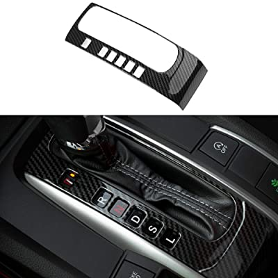 Thenice for 10th Gen Civic ABS Carbon Fiber Texture Inner Gear Panel Trim Shift Box Decoration Cover for Honda Civic 2016 2020 2020 2020 2020 -Automatic Transmission: Automotive