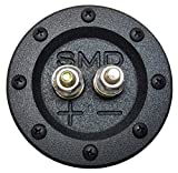 SMD 1 Channel Heavy Duty Speaker Terminal (Grade 8) (3/4'' PVC Black) (Round)