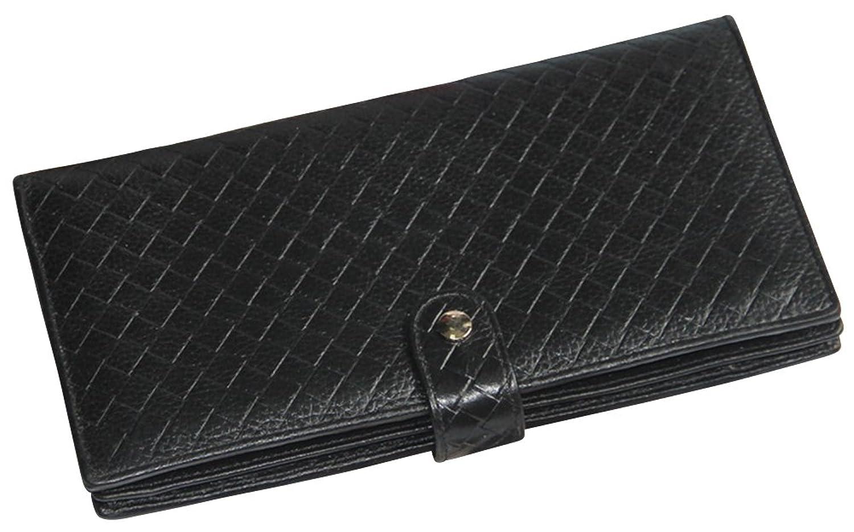 Hellofashion Women's Long Zip Wallet Black One size