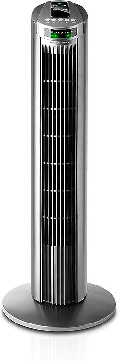 Taurus Babel RC - Ventilador de torre con control remoto, 3 ...